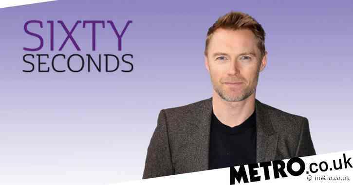 Sixty Seconds: Ronan Keating on missing Boyzone bandmate Stephen Gately and feeling younger thanks to his five kids