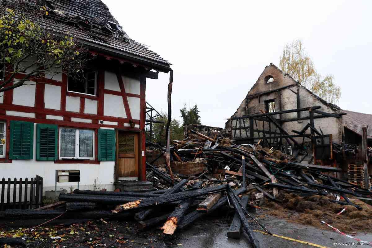 Kaffee im Wert von 30'000 Franken verbrannt – Hausbrand in Höri zerstört Kaffeelager - Zürcher Unterländer