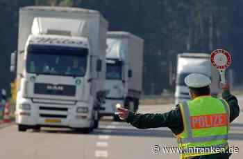 A9 im Fokus: Polizei kontrolliert Lkw-Fahrer in Franken - Fahrer mit 2,38 Promille erwischt - inFranken.de