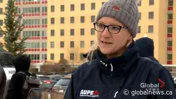 'Privatization does not save money': AUPE on wildcat strikes at Alberta health facilities