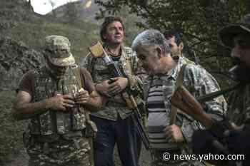 Armed villagers guard strategic gateway to Nagorno-Karabakh