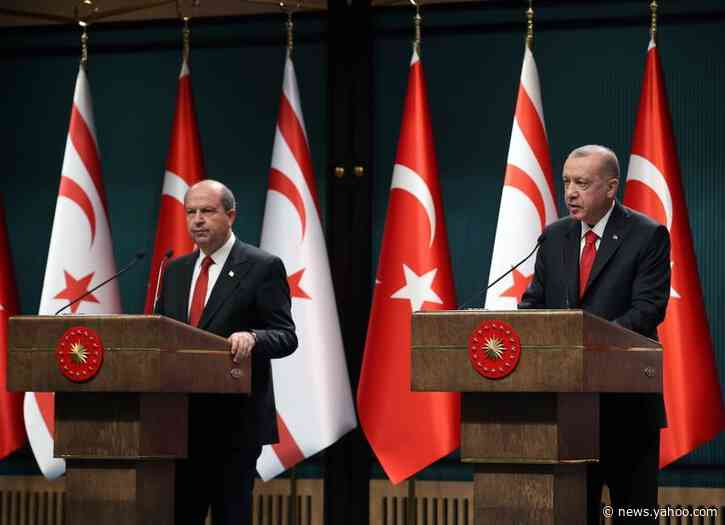 Turkey's Erdogan says it's time for two-state solution in Cyprus