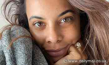 Rochelle Humes reveals she says 'her and good girl by mistake all day' after welcoming son Blake