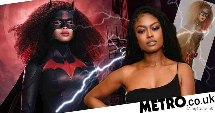 Batwoman's Javicia Leslie reveals new re-designed costume as she announces: 'Blackwoman is here'