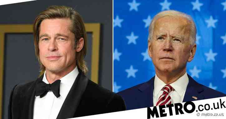 Brad Pitt endorses Joe Biden as 'a president for all Americans' as he narrates campaign advert