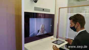 Volksbank Laichingen : Kundenberatung am Bildschirm - Bank führt Video-System ein - SWP