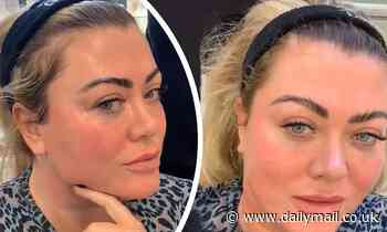 Gemma Collins marvels at the youth-enhancing results of her facial massage