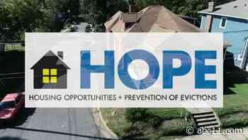 HOPE program offers rental assistance for families impacted by COVID-19