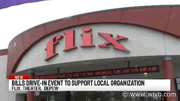 """Flix Theater in Depew hosting""""drive-in"""" Bills game for a good cause"""