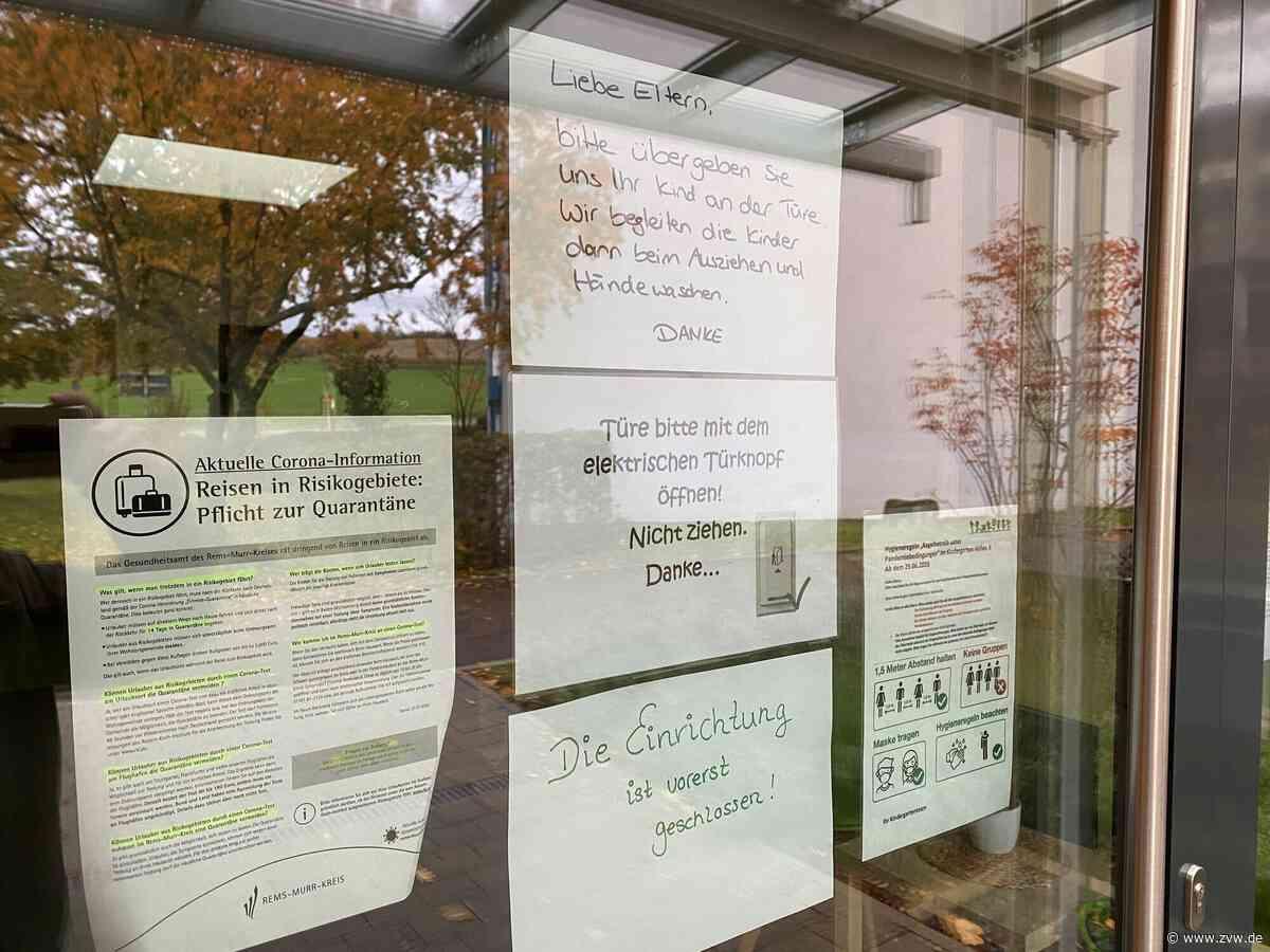 Corona-Verdacht: Kita Höfen II vorerst geschlossen - Winnenden - Zeitungsverlag Waiblingen