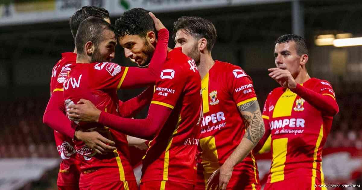 Go Ahead leidt B-elftal NAC naar de slachtbank na bizarre openingsfase