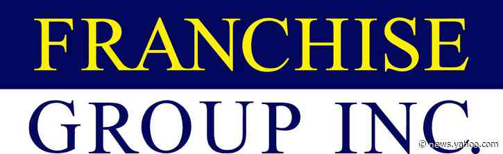 Franchise Group, Inc. Provides Preliminary Third Quarter Operating Statistics,Third Quarter Earnings Release and Conference Call Scheduled for November 4, 2020