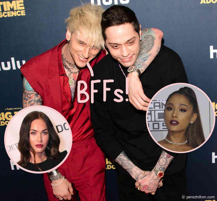 Machine Gun Kelly Praises Pete Davidson's 'Big D**k Energy' During Ariana Grande Engagement & Talks Falling In Love With Megan Fox!