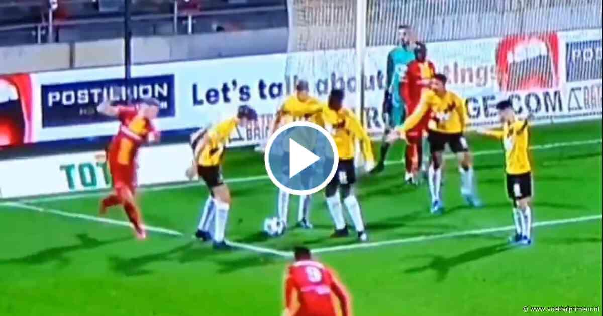Rampavond van NAC Breda samengevat in pijnlijke acht seconden...