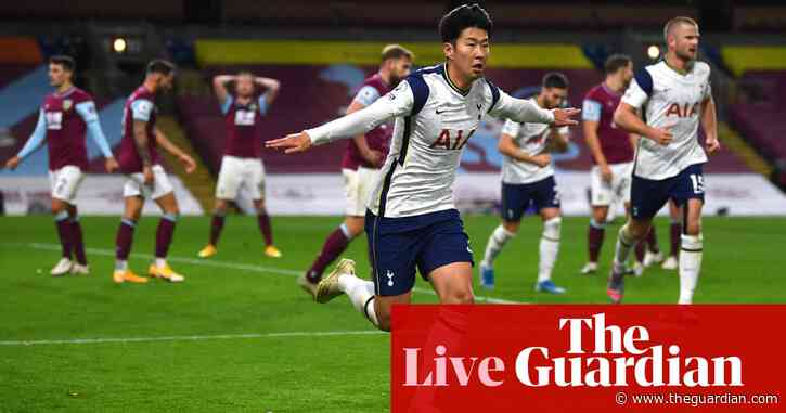 Burnley 0-1 Tottenham Hotspur: Premier League – as it happened