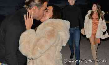TOWIE's Yazmin Oukhellou and James Lock pack on the PDA