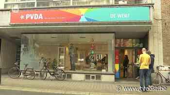 Gloednieuw PVDA-actiecentrum opent in Sint-Niklaas - TV Oost