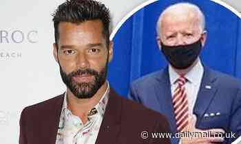 Ricky Martin backs Joe Biden for President and calls Latino support for Trump 'really scary'