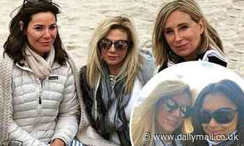 Ramona Singer bonds on the beach with new RHONY cast-mate Eboni K. Williams during group picnic