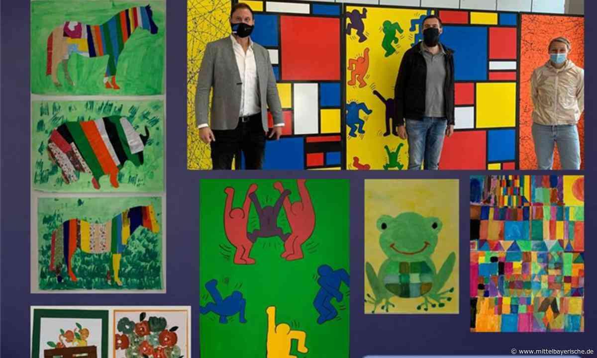 Schule zeigt ihre künstlerische Seite - Mittelbayerische