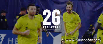 26 takeaways: Week 20 observations for every MLS team | Steve Zakuani