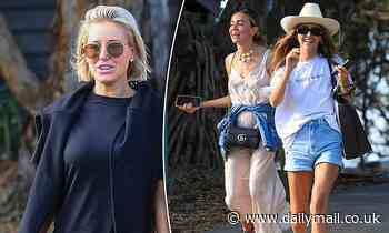 Roxy Jacenko and entitled influencer Ruby Tuesday Matthews dine on oysters together in Byron Bay