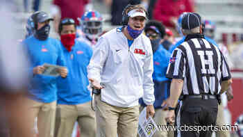 SEC fines Lane Kiffin for voicing frustration, admits officiating error at end of Auburn win over Ole Miss
