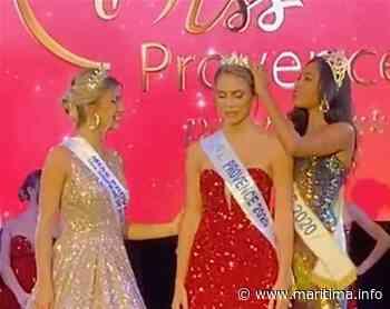Département - LIVE - April Benayoum (Eguilles) devient la nouvelle Miss Provence 2020 - Maritima.info