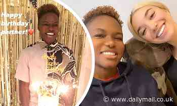 Nicola Adams is treated to sweet video montage for her birthday courtesy of girlfriend Ella Baig