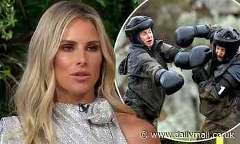 WAG Candice Warner defends punching Roxy Jacenko on SAS Australia