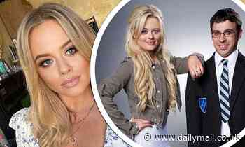 Emily Atack admits THREE different dates have called her Charlotte