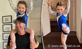 Michael Clarke shares a sweet series of photos with his adorable daughter Kelsey Lee