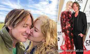 Nicole Kidman shares a sweet tribute to her husband Keith Urban to celebrate his 53rd birthday