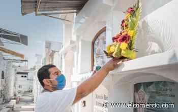 Chone, Rocafuerte, Tosagua y Manta, en Manabí, no abrirán sus cementerios los cuatro días del feriado - El Comercio (Ecuador)