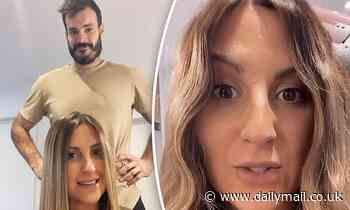 The Bachelor's Locky Gilbert gives Irena Srbinovska 'a cheeky wave' as he styles her hair