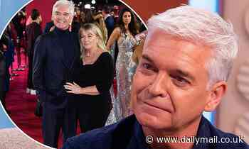 Phillip Schofield reveals he has not talked of divorce with his wife Steph