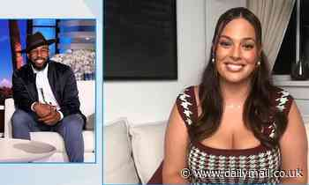 Ashley Graham reveals on talk show that she takes pride her curvy body is 'starting a conversation'