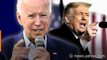 Yahoo News/YouGov poll: With one week left, Biden's lead over Trump spikes to 12 points - his biggest yet