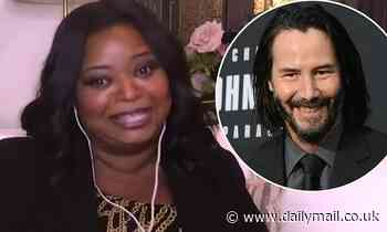 Octavia Spencer shares why she cried tears of joy over Keanu Reeves' 50th birthday tribute to her