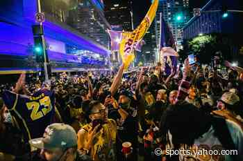 Los Angeles officials partially blame Lakers title celebrations for new COVID-19 spike