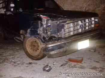 Guiador causa daños a vehículo y vivienda en Peto - El Diario de Yucatán