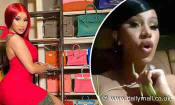 Cardi B claps back at trolls who argued Birkin bags have 'lost their value' because of Black women