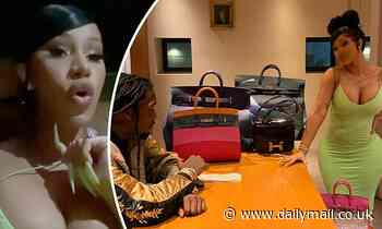 Cardi B claps back at racist trolls who say Birkin bags have 'lost value' because of black women