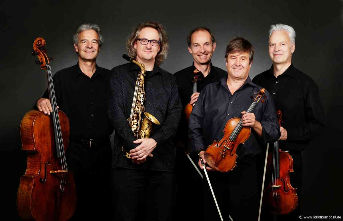 Saxophonist Roger Hanschel und das Auryn Quartett in der Stadthalle Kleve: Im Regen feiner Klänge - Kleve - Lokalkompass.de