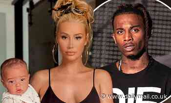 Iggy Azalea assures followers that Playboi Carti is very much involved in raising their newborn
