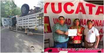 Aspirante a diputada por el PT muere en choque en la Muna-Maxcanú - El Diario de Yucatán