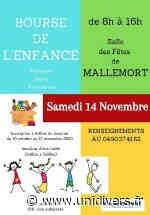 Bourse à l'enfance samedi 14 novembre 2020 - unidivers.fr
