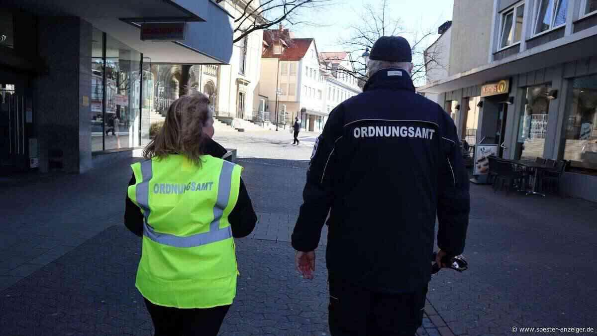 Coronavirus im Kreis Soest: Sicherheitsdienst unterstützt in Werl das Ordnungsamt - Soester Anzeiger