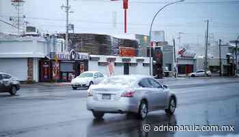 #Juarez   Se espera nieve o agua nieve en la ciudad; tome precauciones - Adriana Ruiz