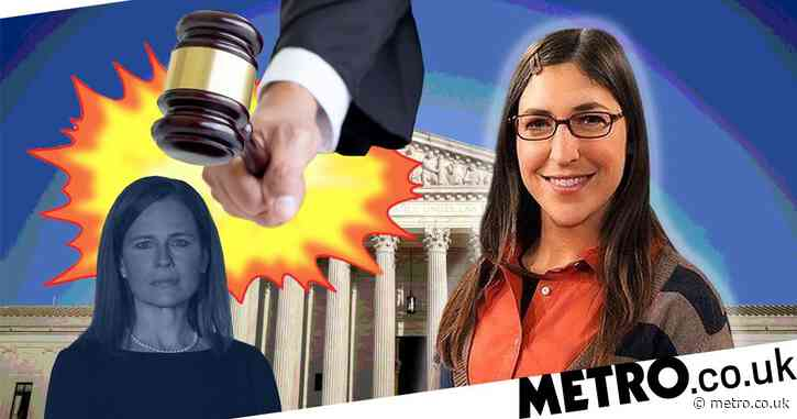 The Big Bang Theory's Mayim Bialik calls for Amy Farrah-Fowler to replace new Supreme Court Justice